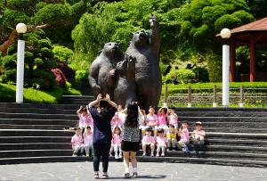 아이들과 반달곰들의 천국 베어트리파크