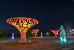 야경이 아름다운 세종시 금강수변공원