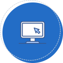 교육지원 사업 및 교육청 협력사업의 기초조사·사업분석·평가·연구 아이콘