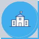 학교와 지역 교육인프라를 연계한 프로그램 기획 및 운영 아이콘