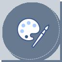 학생들의 체험활동(자유학기제 포함) 및 방과후 활동 지원 아이콘