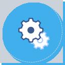 통합 플렛폼(홈페이지) 구축 아이콘