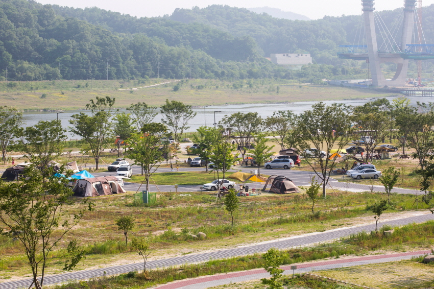 Scenery of Hapgang camping Site 1.