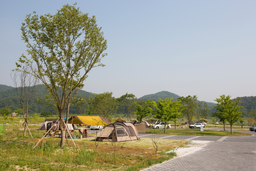 Scenery of Hapgang camping Site 3.