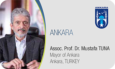 ANKARA-Assoc. Prof. Dr. Mustafa TUNA / Mayor of Ankara Ankara, TURKEY