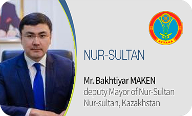 NURSULTAN-Mr. Bakhtiyar MAKEN / deputy Mayor of Nur-Sultan Nur-sultan, Kazakhstan