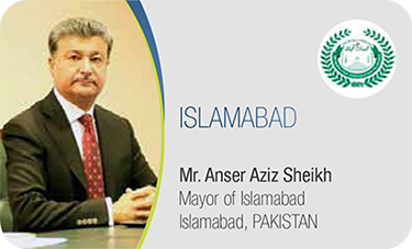 ISLAMABAD-Mr. Anser Aziz Sheikh / Mayor of Islamabad Islamabad, PAKISTAN
